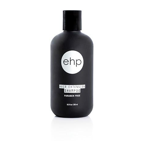 Bottle of Easihair Pro hair extension shampoo for human hair