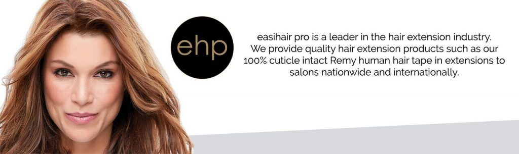 the hair we ear by easihair pro extensions