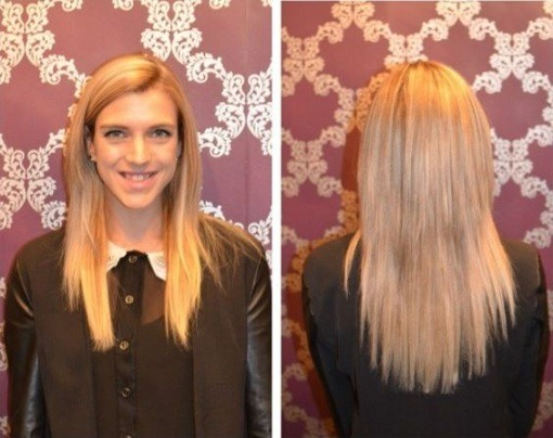 How I have long hair again by blogger Anja Wintour